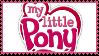 G3.5 My Little Pony logo stamp by ColossalStinker