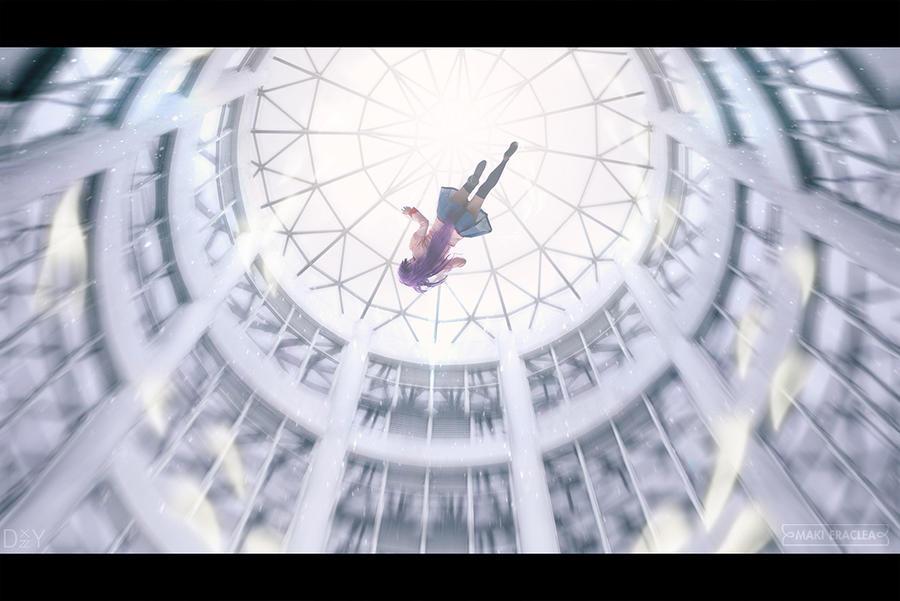 Falling by MakiEraclea