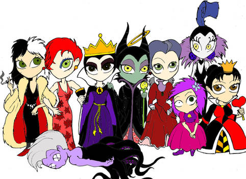 Dark Disney II by SpookyChild