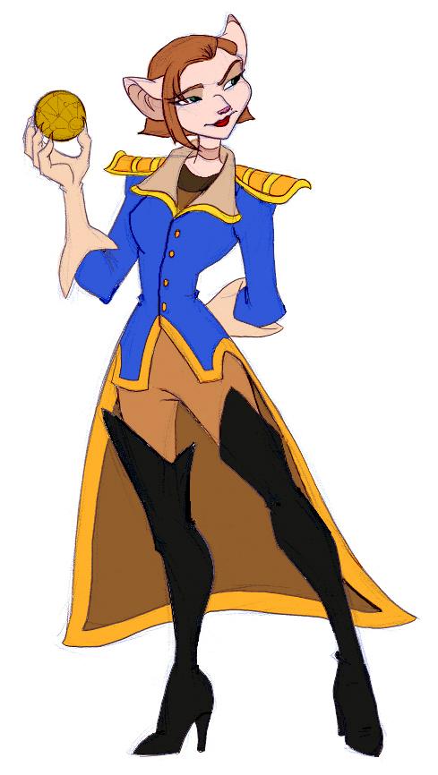 Captain Amelia by bri-chan by AppreciatesArt