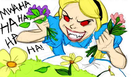 Death To Flowers by bri-chan by AppreciatesArt