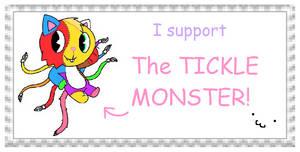 Tickle Monster Stamp