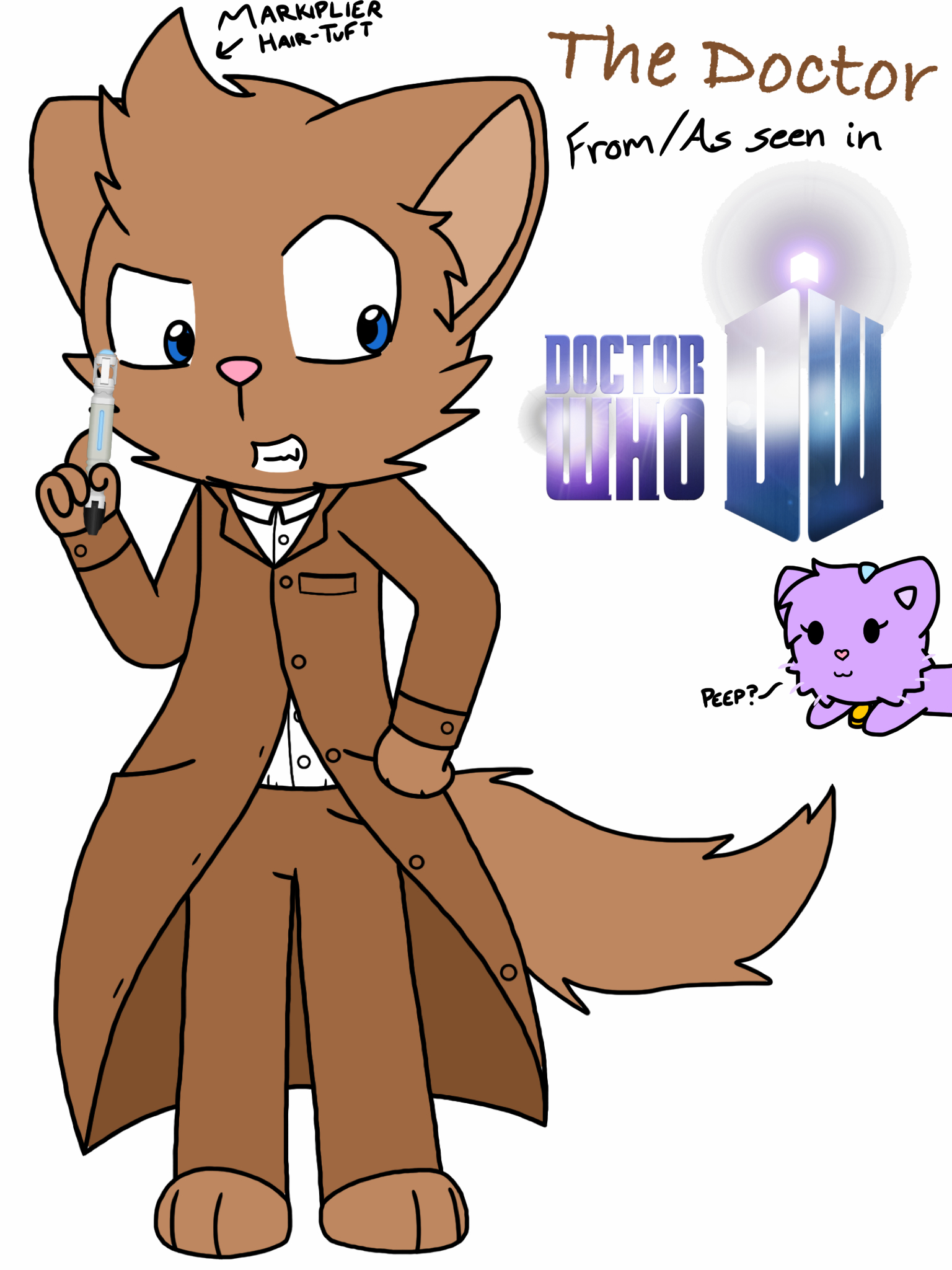 Doctor Who (Luno Team Style :3) by RaccoonTwin-3