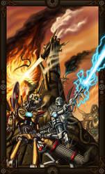 Steam Powered Warfare by Sakalah