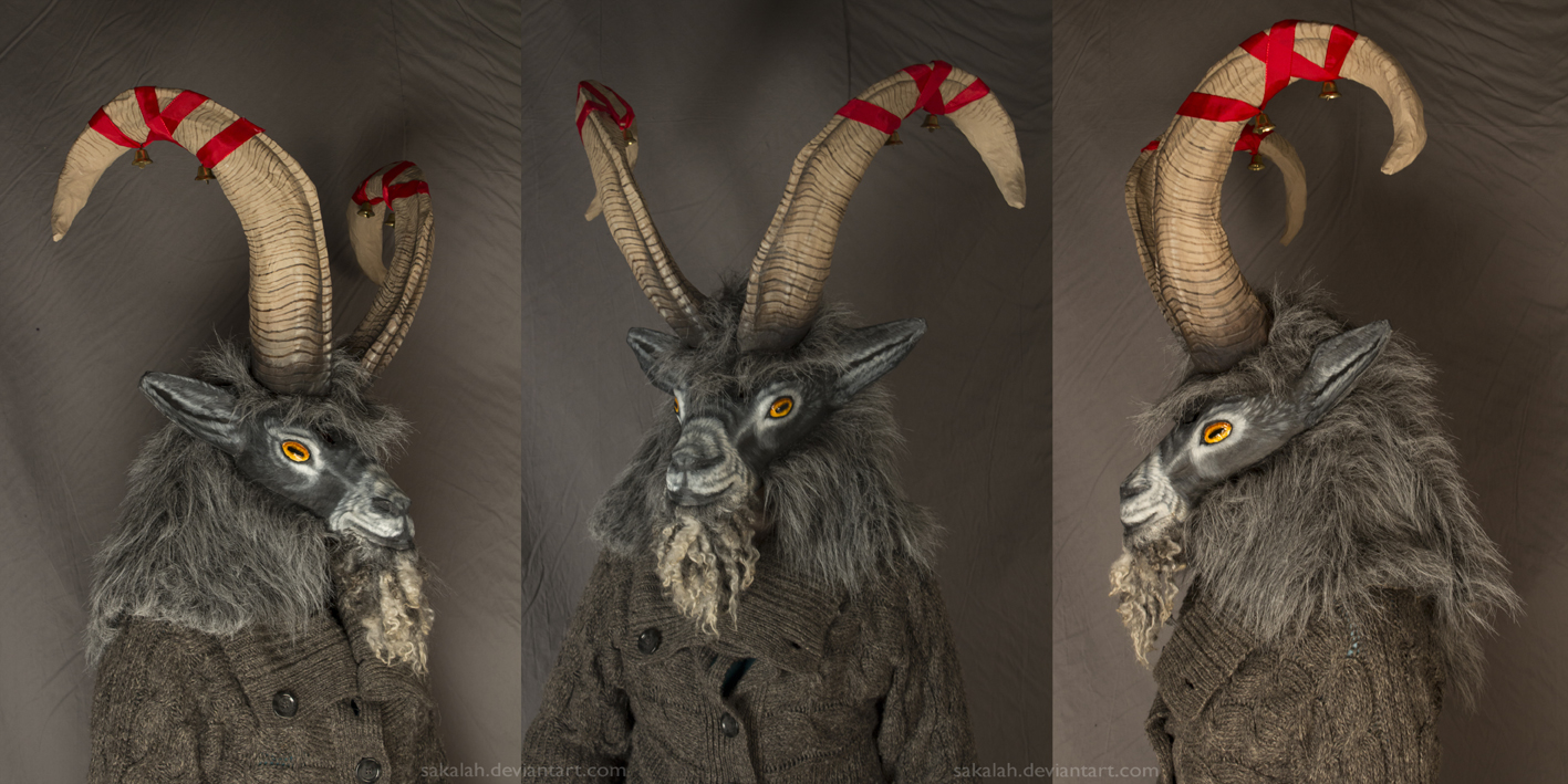 The Yule Goat by Sakalah