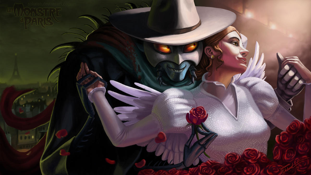 Un Monstre a Paris - Angel in Disguise by Sakalah