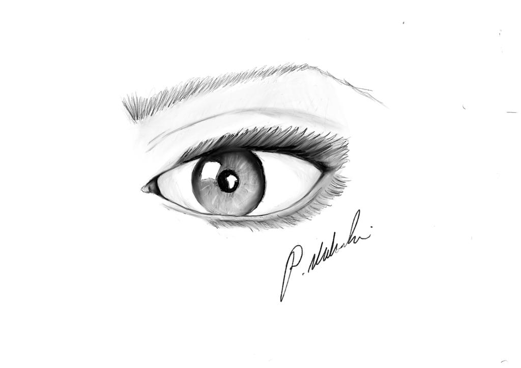 Eye sketch by Saintus1