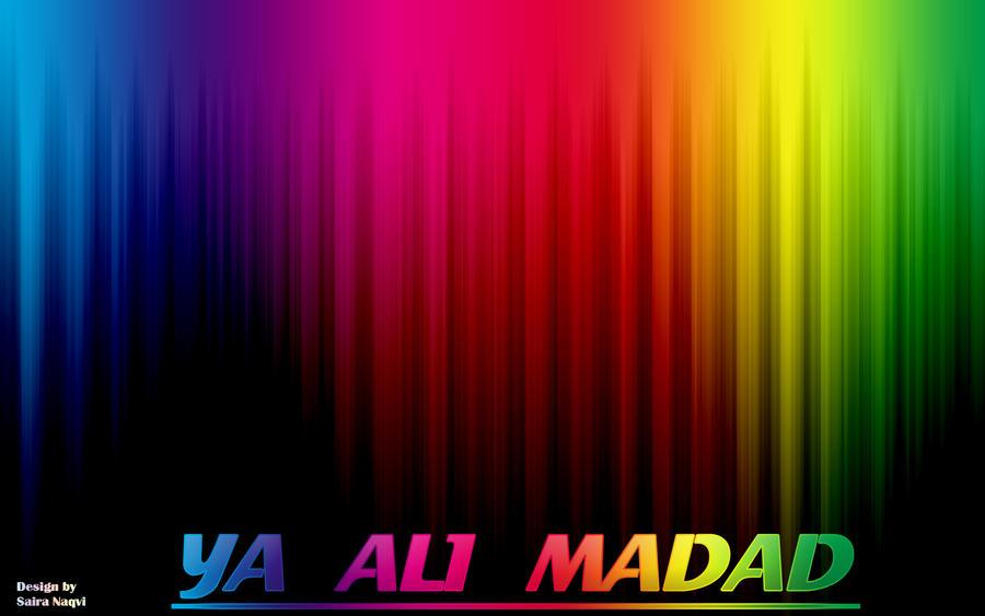 Ya ali madad by syedasairanaqvi on deviantart - Ya ali madad wallpaper ...