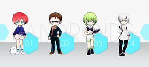 Adopt Auction: Androids [closed]