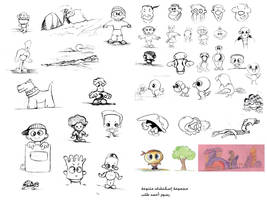 sketches by ahmedtelb