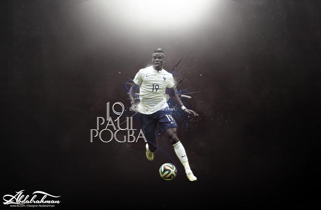 Wallpaper Paul Pogba 2014 By Designer-Abdalrahman On