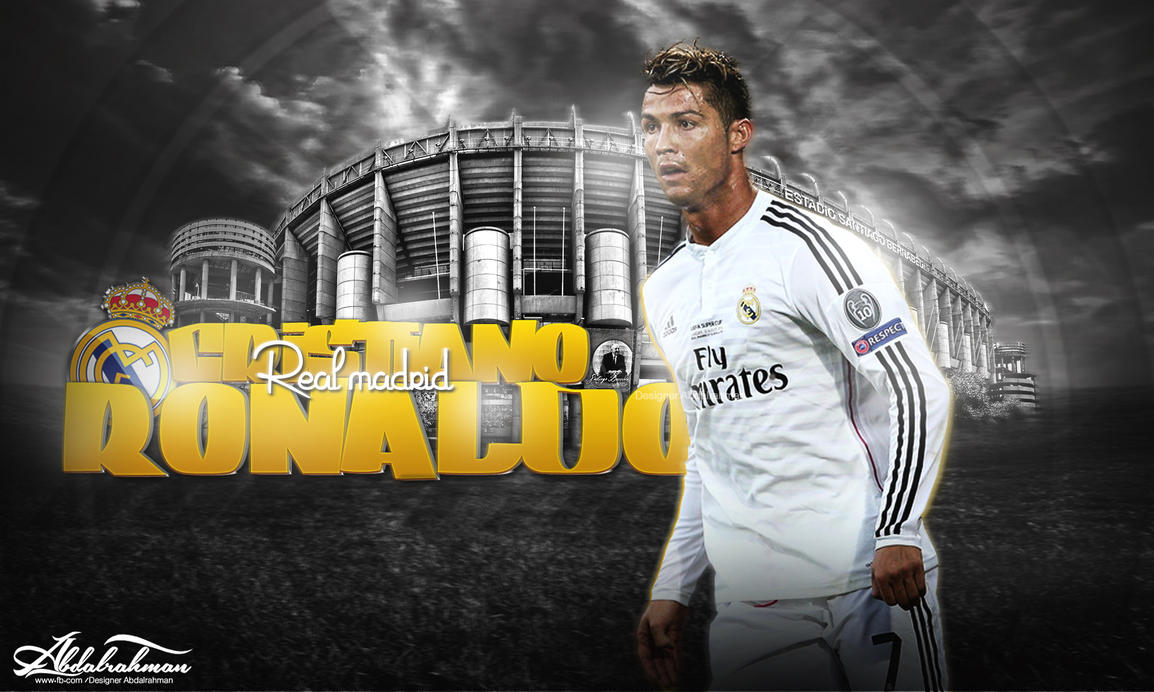 Wallpaper Cristiano Ronaldo 2014 By Designer Abdalrahman