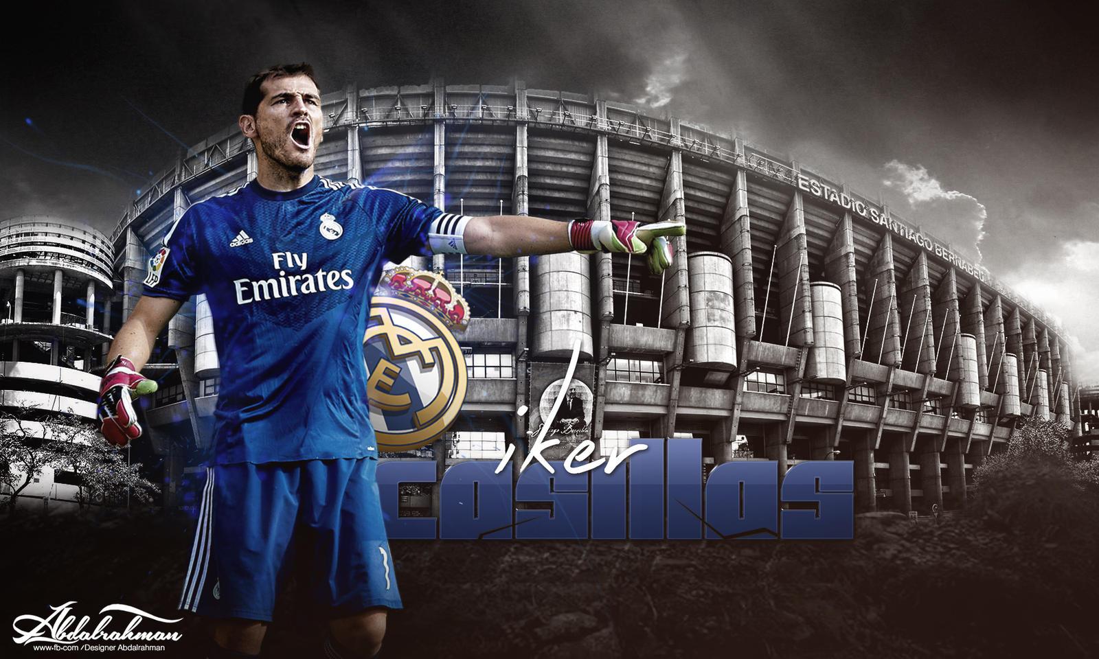 Wallpaper Iker Casillas 2014 By Designer Abdalrahman