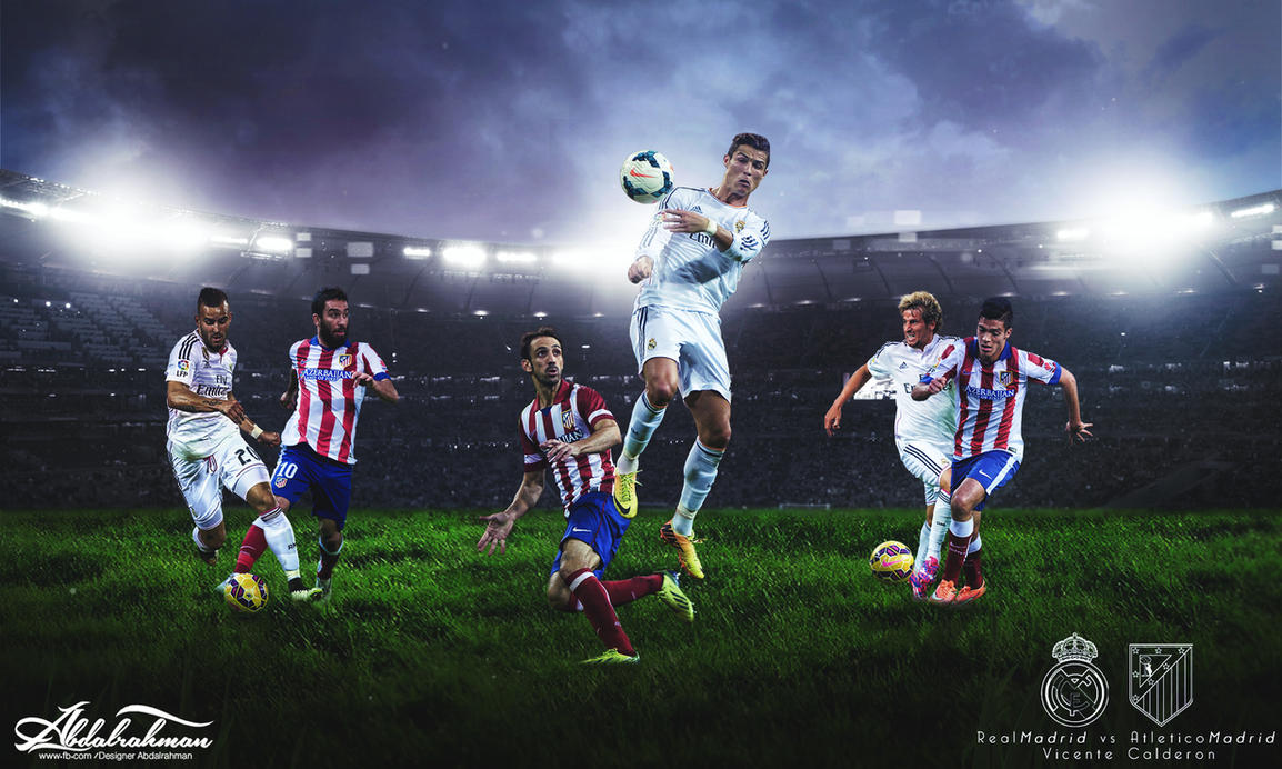 Wallpaper real madrid vs atletico madrid 2015 by designer wallpaper real madrid vs atletico madrid 2015 by designer abdalrahman voltagebd Image collections
