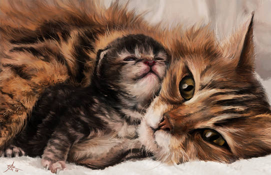 Digital art: Mothers day