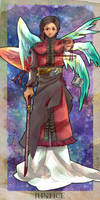 Tarot 'Justice' by nomichi