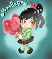 Vanellope by Miss-Nosy