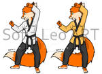 Taekwondo Fox (Poomsae)