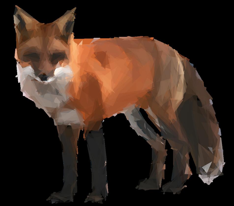 Triangular fox by Animatron-io