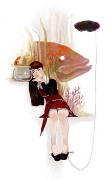Rainee And Fish