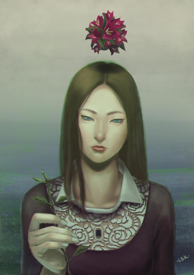 Paper Flower by LEKKER