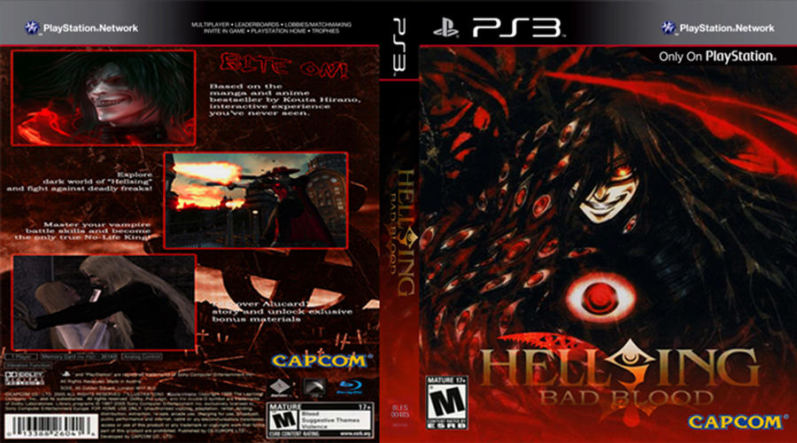 Hellsing PS3 cover by Nox-dl