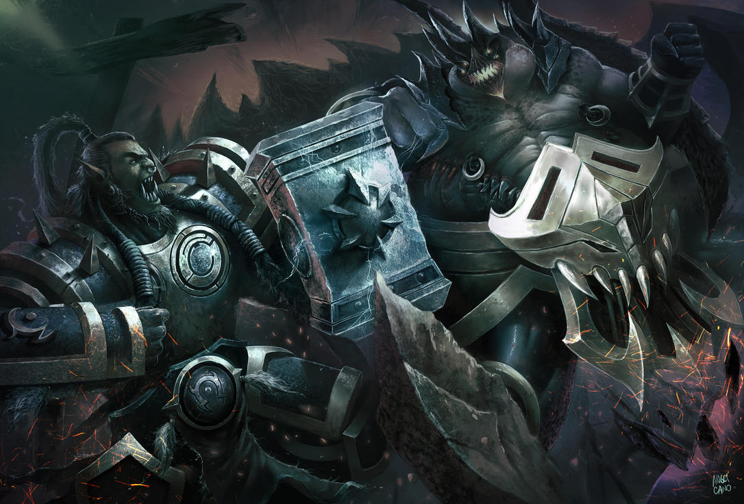 Strorm fight by angelcanohn