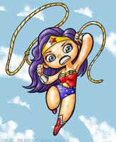 Wonder Woman Bancroft Blair colours by PinupsByGib