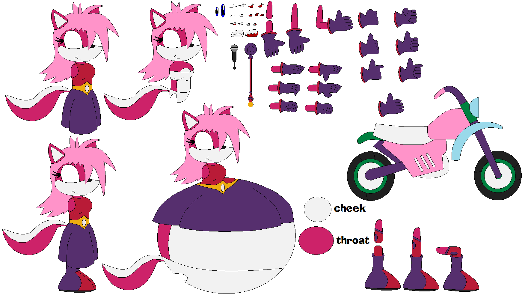 Princess Flower Redesign Builder by narutofangirlforever on DeviantArt