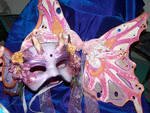 Fairy mask with wings