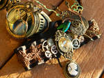 Steampunk Accessories 2 by EMasqueradeGallery