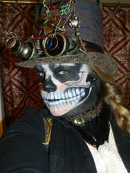 Halloween Steampunk Skull by EMasqueradeGallery