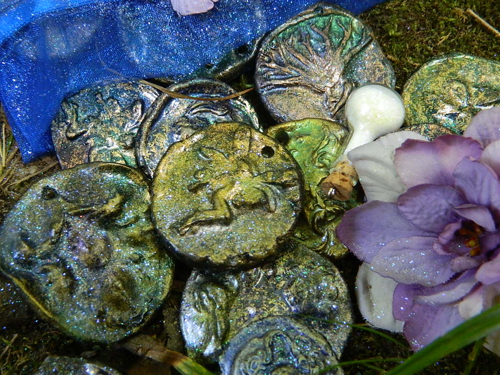 Faery Coins by EMasqueradeGallery