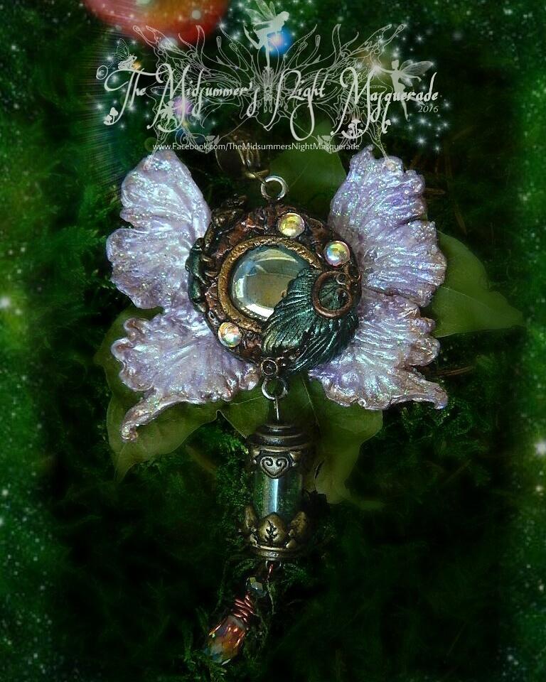 Faery Fantasy pendant 1 by EMasqueradeGallery
