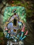 Titania + Oberon Faery Door lightswitch cover