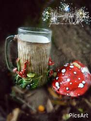 Fairy Mushroom Tankard by EMasqueradeGallery
