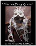 'Winter Faery Queen' Mask