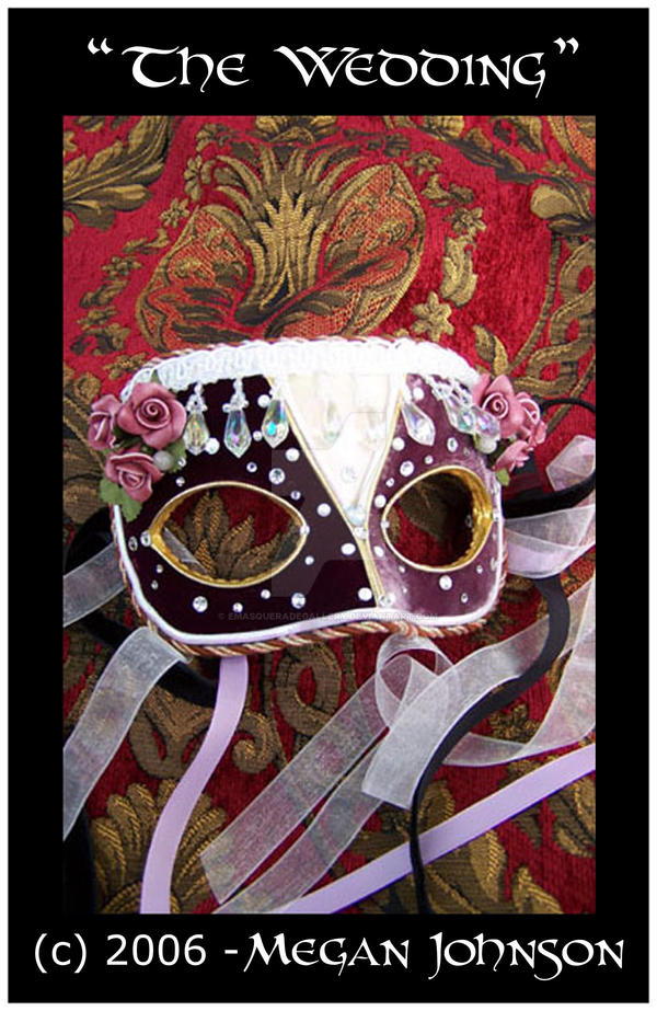 'The Wedding' mask by EMasqueradeGallery