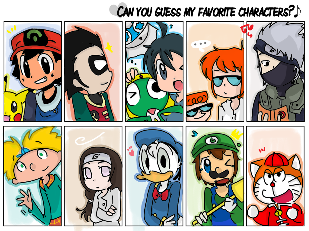 can you guess my favorite character ? :. by FnFiNdOART on ... Y U No Meme Blank