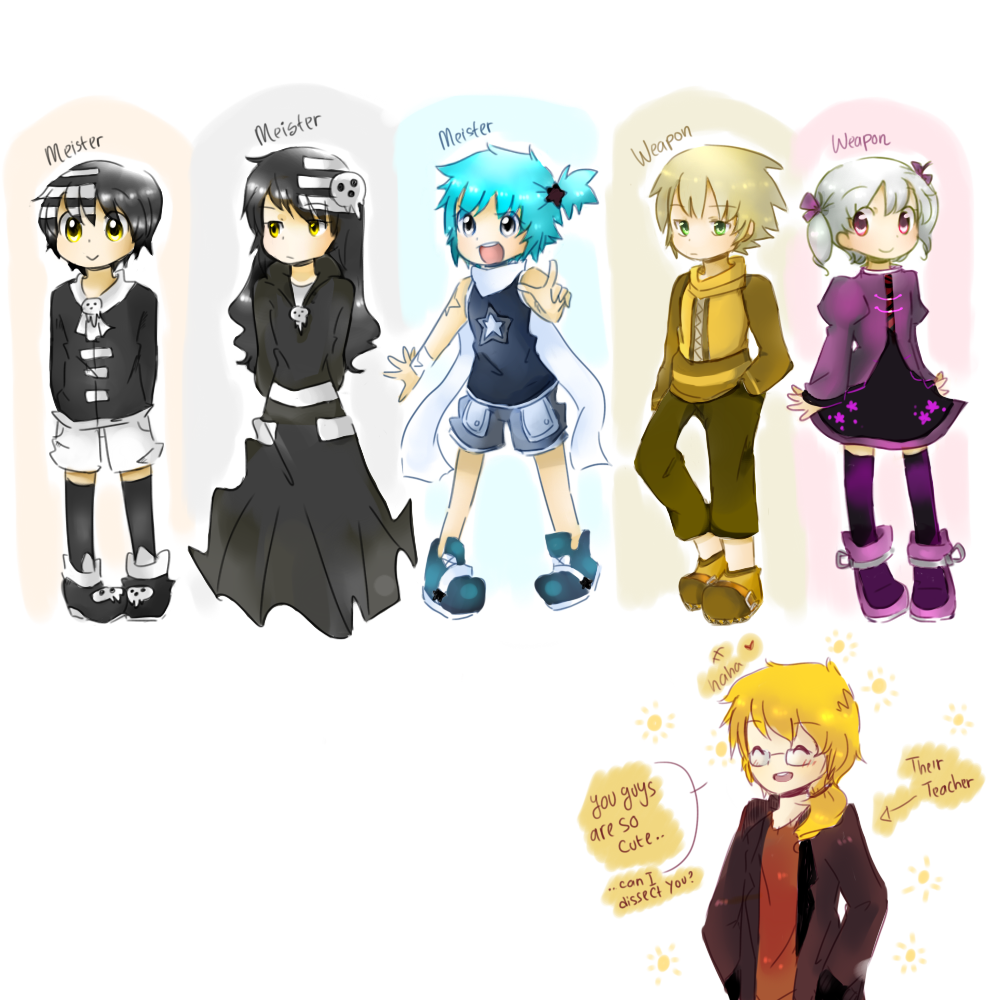 Soul Eater Ocs By Finni NF