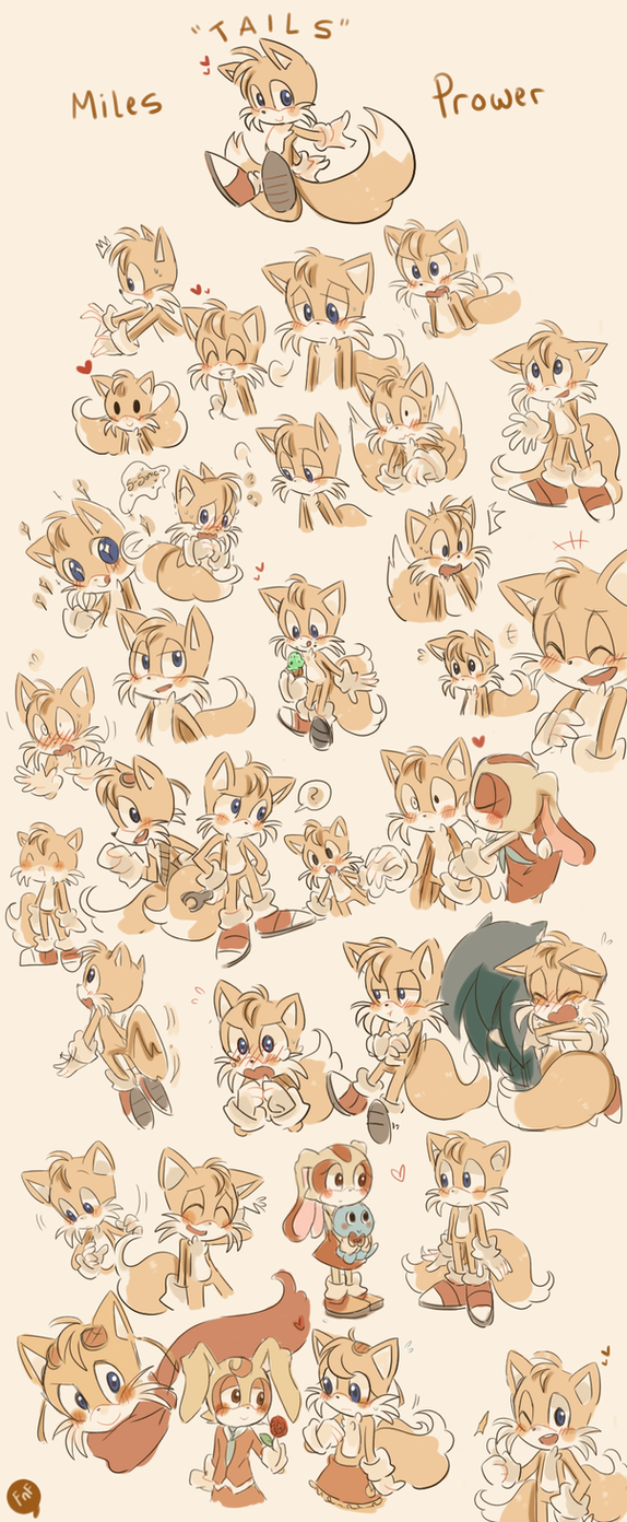 .: Tails Doodles :. by Finni-NF
