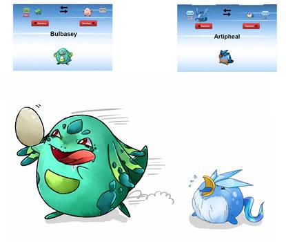 .: Collab : Pokemon Fusions :.
