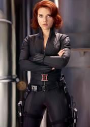 Scarlett Johansson by Luis04