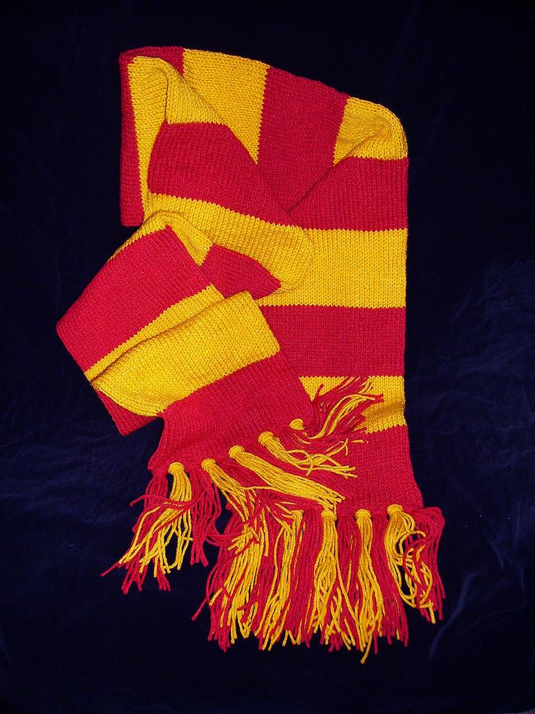 hogwarts house scarf 1 by avchick on deviantart