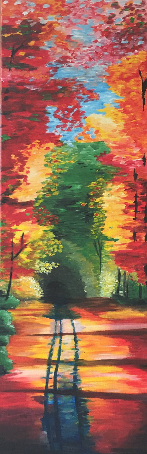 Colourful forest by Wendy0