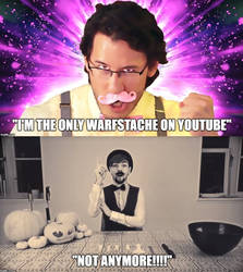 Jacksepticeye is now...a warfstache?!!!! by Prince-riley