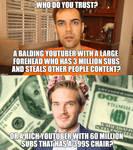 Jacksfilms vs pewdiepie!!!