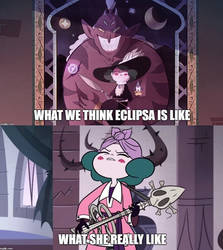 Eclipsa the queen of cuteness by Prince-riley