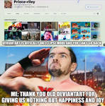 Thank you and R.I.P old deviantart by Prince-riley