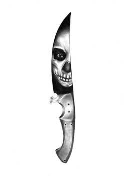 Skull knife